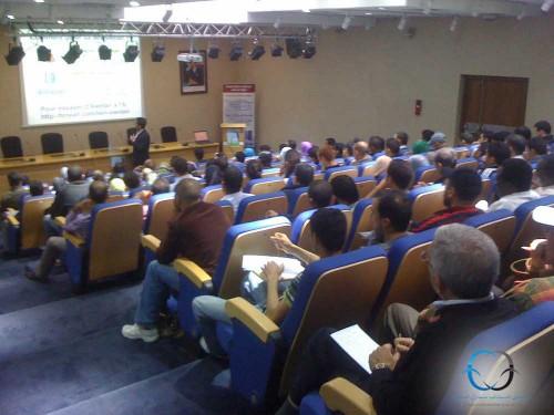 Photo prise lors de la conférence BlogPro.PaiementInternetMaroc.com, organisée par le CEED