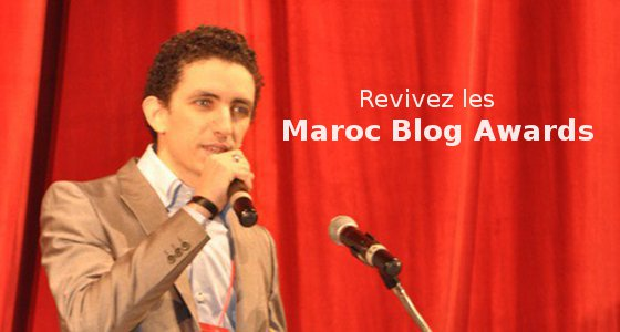 Oussama, le présentateur des Maroc Blog Awards 2011