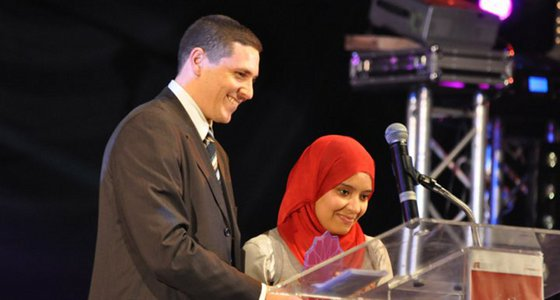 Sana Marrokia, la meilleure Blogueuse de l'année 2011 au Maroc