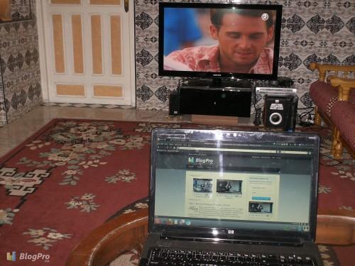 Salle de télévision de Simo Life