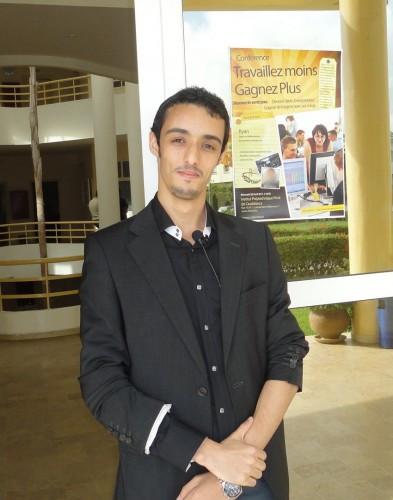 Saâd Khafif, l'organisateur de Travaillez Moins et Gagnez Plus