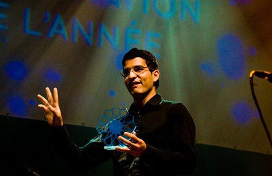 Un des gagnants des Maroc Blog Awards