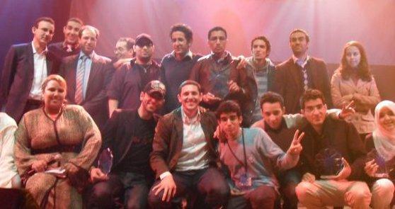 Maroc Blog Awards, photo de groupe